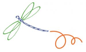 comme une libellule - libellule Christine CROIZET - Comme une libellule