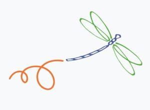 libellule - comme une libellule - Christine Croizet