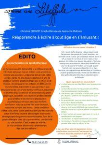 info-lettre-n°2- comme une libellule - Christine Croizet